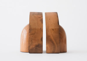 Wood Deco Bookends