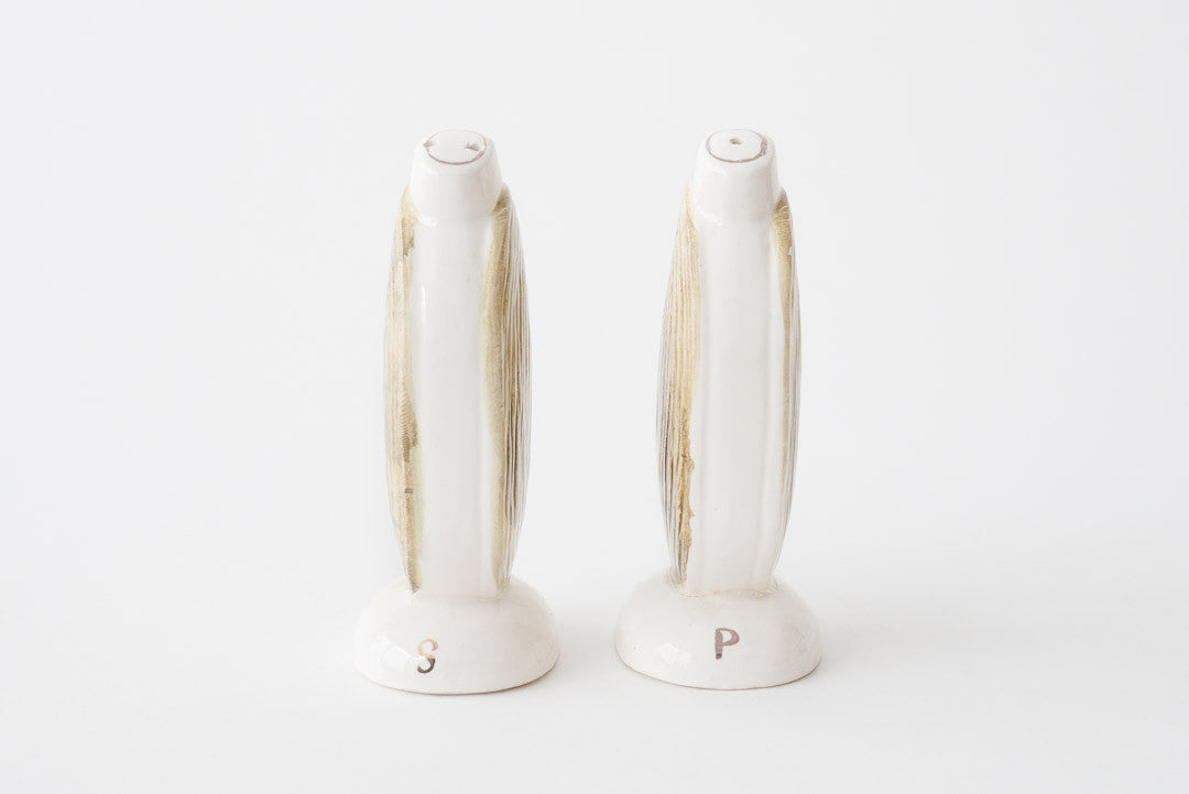 Clam Salt & Pepper Shakers