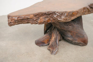 Live Edge Trunk Table