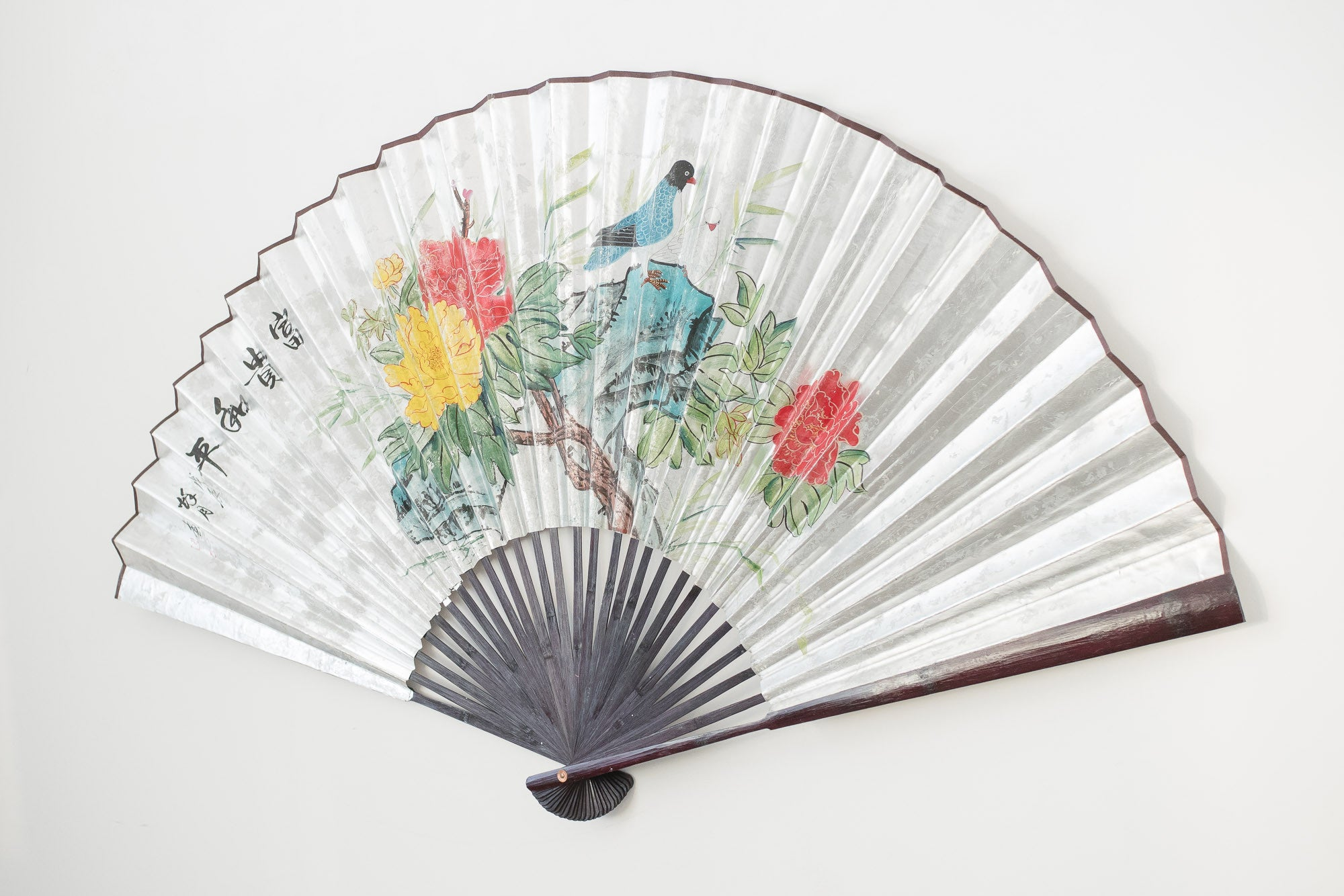 Decorative Wall Fans japanese wall fan | homestead seattle