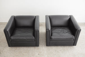 MC Leather Club Chairs