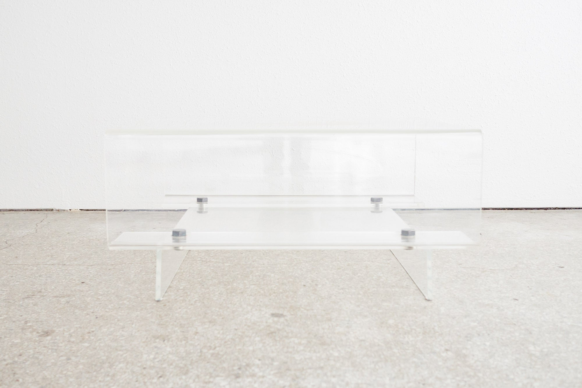 Incroyable Lucite Coffee Table