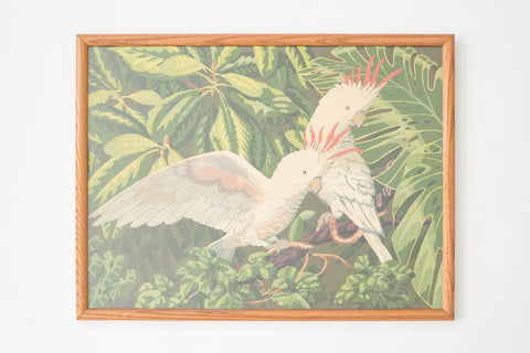 MC Tropical Birds Painting