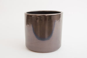"8"" Pot / Planter - Bronze Cylinder"