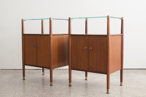 Pair MC Nathan Nightstands