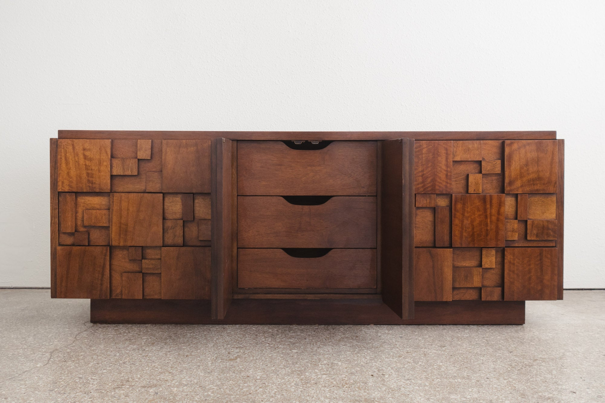 collection products carved nine mid lowboy outlook bassett credenza modern details century jiranek leo by drawers dresser