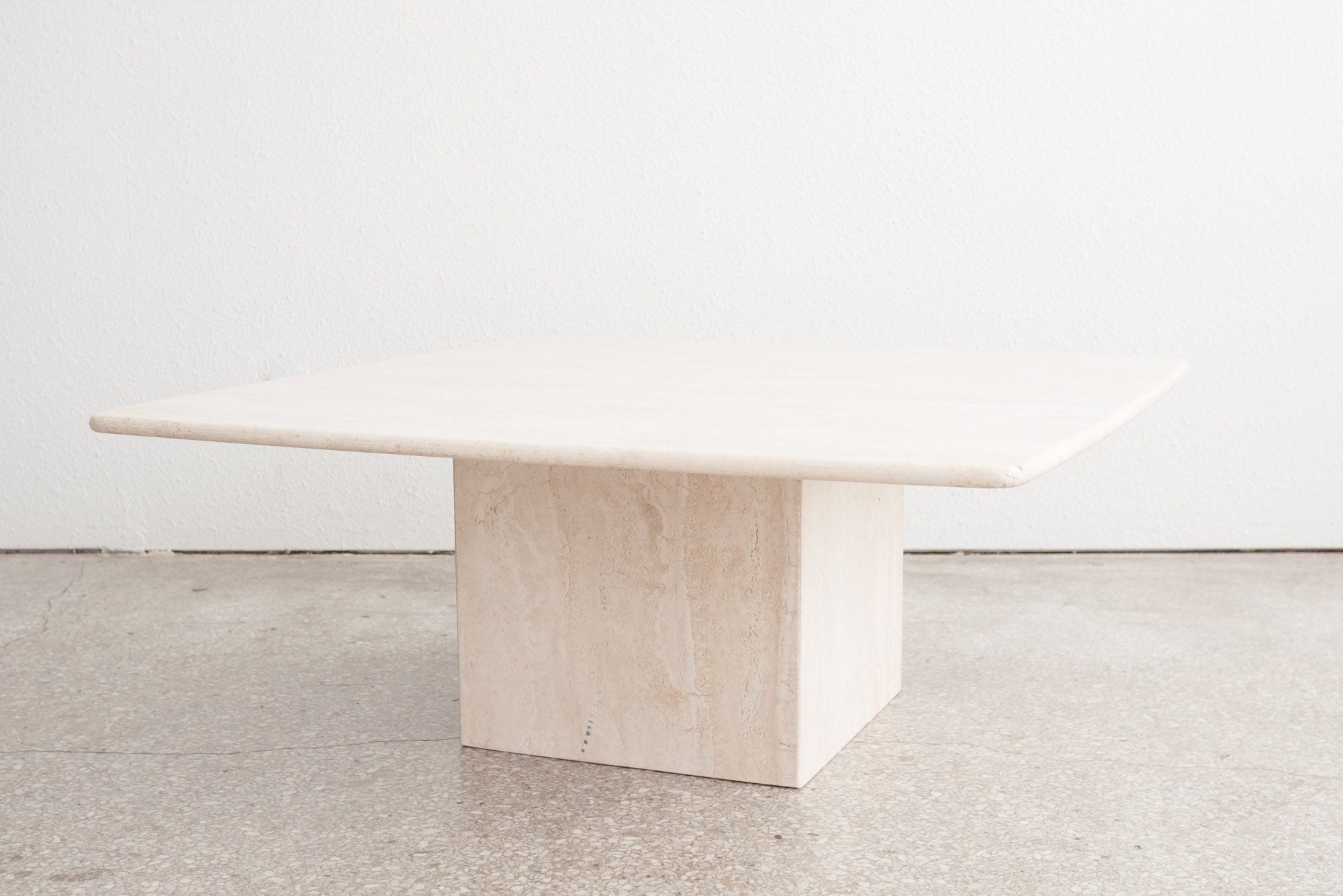 Superieur Travertine Coffee Table