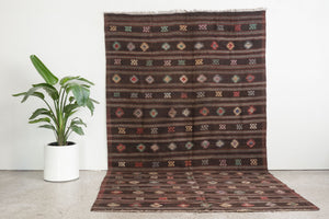 6x11 Turkish Kilim Rug | BELMA