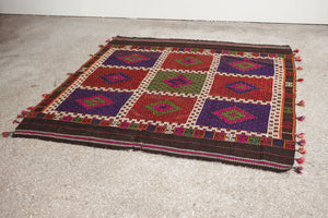 5.5x6 Turkish Kilim Rug | HAKAN