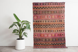 4.5x7 Turkish Kilim Rug | ARTAC