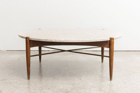 MC Dux Travertine Table