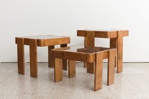 Maple Stacking Tables