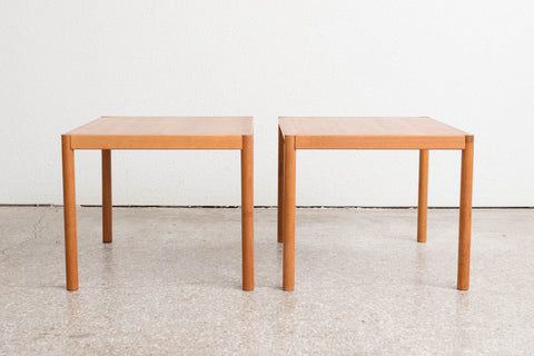 Pair Trioh Denmark Side Tables