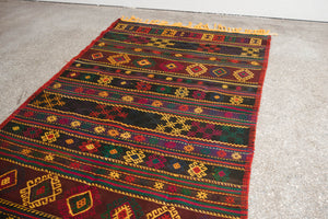4.5x8.5 Turkish Kilim Rug | ATAY