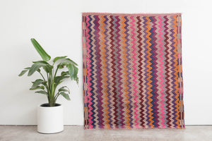 5x6.5 Turkish Kilim Rug | ARAL