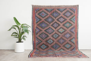 6.5x10 Turkish Kilim Rug | EMIN