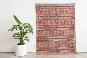 5x7 Turkish Kilim Rug | ATABEY