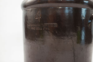 Antique 4Gal Stoneware Crock