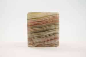 Square Onyx Votive Holder