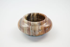 Carved Jasper Bowl
