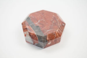 Faceted Feldspar Object