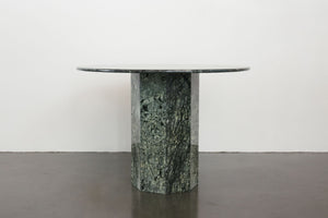 Green Marble Pedestal Table
