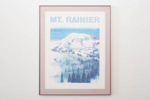 Mount Rainier by Jess Cauthorn 1989
