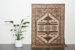 5x8 Turkish Ushak Rug | CIVAN