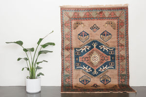 5.5x8 Turkish Shiravan Rug | ELA