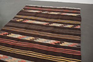 5x7.5 Turkish Kilim Rug | ERMAN