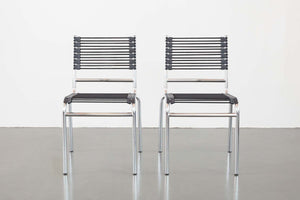 Pair Mod Bungee Chairs