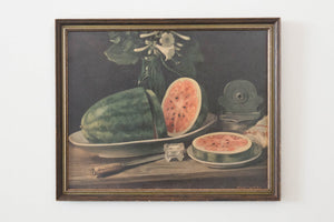 Still Life with Watermelon, Robert Smith 1962