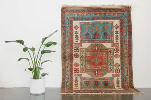 5.5x7.5 Turkish Shiravan Rug | ERTAN