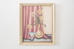 1940s French Airbrush Still Life