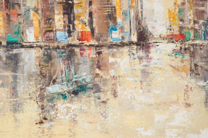 Impressionist Painting of a Cityscape