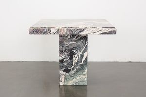Italian Marble Side Table
