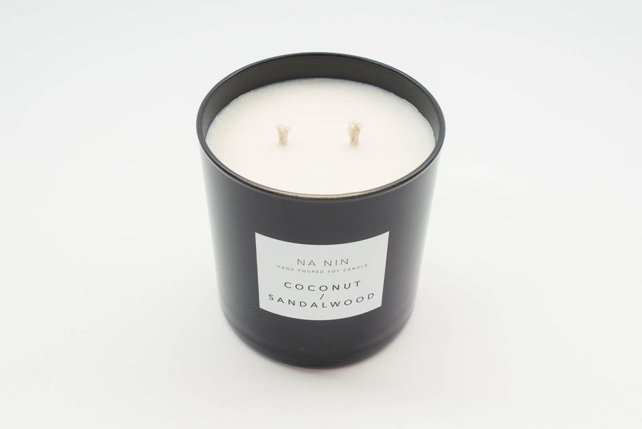 NA NIN Pairings Candle 9oz | Coconut + Sandalwood
