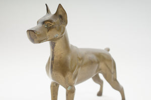 Brass Dog Figurine