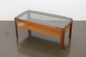 MC Smoked Glass Coffee Table
