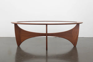 MC G-Plan Oval Coffee Table
