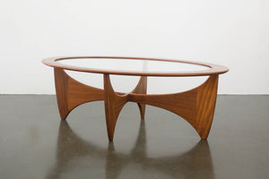 Astro G-Plan Oval Coffee Table