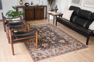 5.5x7.5 Turkish Shiravan Rug | ESEL