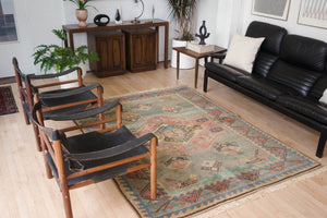 5.5x8 Turkish Shiravan Rug | ENGIN
