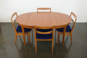 MC Inset Leaf Dining Table