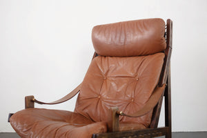 Bruksbo Norway Leather Sling Chair