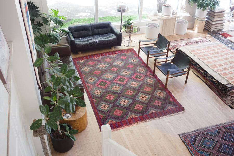 6.5x10.5 Turkish Kilim Rug | AYGUN