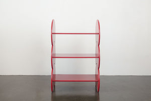 Red Mod Circle Shelf