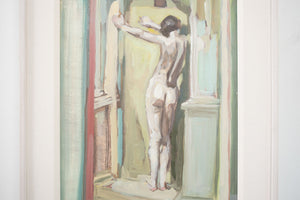 'Figure in Reflection' Nude Painting