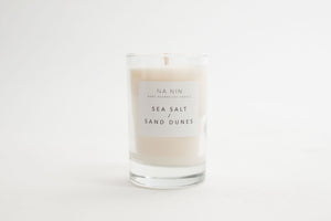 NA NIN Soy Candle 5oz | Sea Salt & Sand Dunes