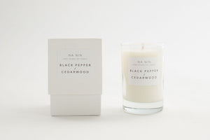 NA NIN Pairings Candle 5oz | Black Pepper + Cedarwood